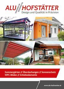 Alu Hofstätter Sommergärten und Überdachungen