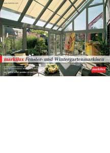 Fenster- und Wintergartenmarkisen 2014