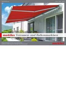 Terrassen- und Balkonmarkisen 2014
